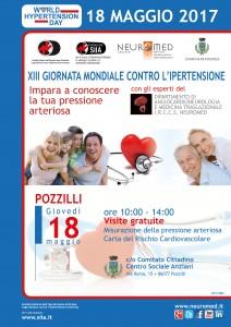 locandina pressione arteriosa Pozzilli 2017