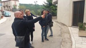 La visita di Manzo e Federico a Civitacampomarano col sindaco Manuele