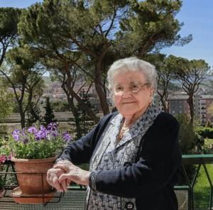 Nonna Finizia D'Alessandro compie 100 anni