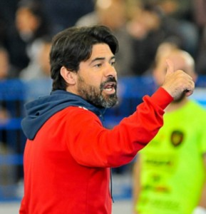 L'allenatore Paolo Pizzuto