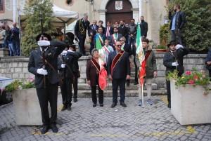I fucilieri a San Giuliano del Sannio