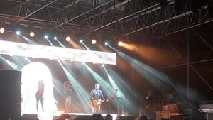 Alex Britti sul palco di Piazza della Repubblica