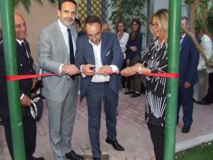 L'inaugurazione dell'angolo verde a Campobasso
