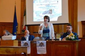 L'intervento dell'assessore Rubino tra il sindaco Battista e il giornalista Formato