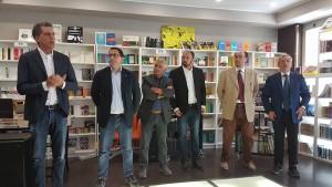 La conferenza stampa con Durante, Leva, Macoretta, Notarangelo, Perriera e Ruta