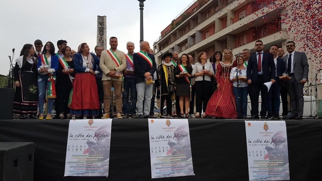 inaugurazione corpus domini e la città dei Misteri