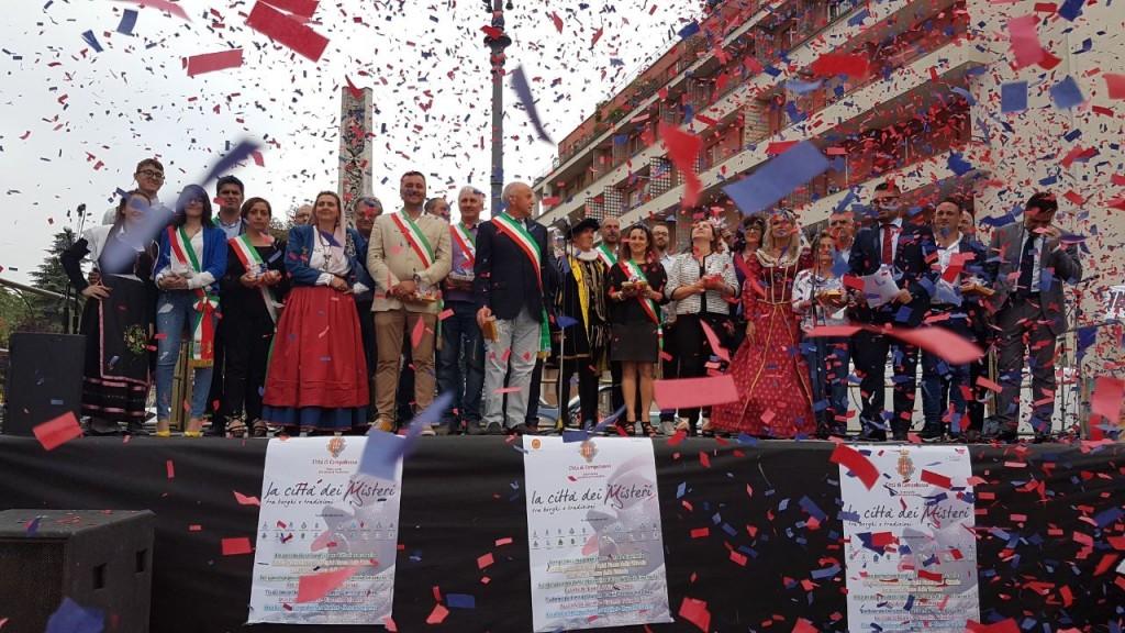 L'inaugurazione delle festività del Corpus Domini a Campobasso