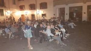 Il pubblico di Piazzetta Palombo