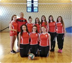 L'Under 20 femminile della squadra di pallavolo di Casacalenda