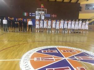 L'Italia Under 18 di pallacanestro di coach Capobianco