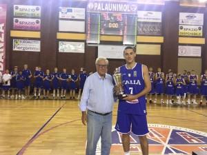 Premiazione Italia U18