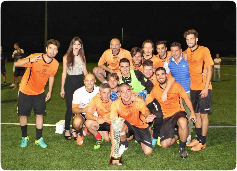 La squadra vincitrice al torneo di Casacalenda