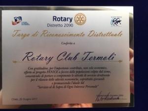 Riconoscimenti al Rotary club di Termoli (2)