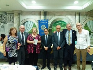 Il direttivo del Rotary Club di Larino