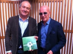 Maurizio Seno, qui con Arrigo Sacchi