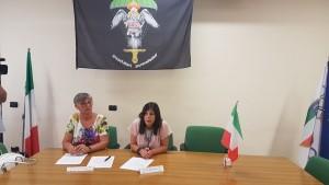 Dora Pinelli, madre di Alessandro Di Lisio', e la professoressa Adele Fraracci