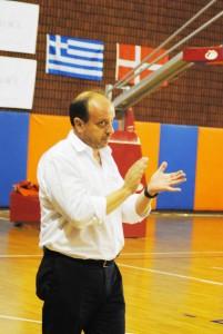 Coach Andrea Capobianco