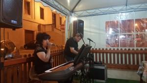 Gabriella durante la serata della Pasticceria 'La Dolce Napoli'