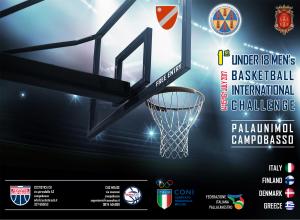 locandina quadrangolare internazionale pallacanestro