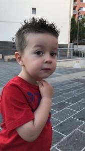 Il piccolo Lorenzo Di Renzo