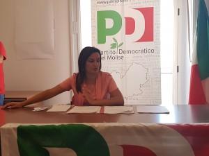 Il segretario regionale del Partito Democratico, Micaela Fanelli