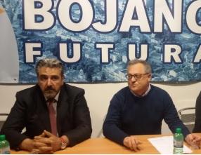Il sindaco Marco Di Biase e il vice-sindaco Virgilio Spina