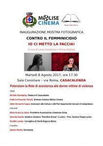 Locandina convegno 8 Agosto 2017 Casacalenda-1 femminicidio