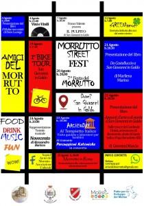 Morrutto Street Fest Locandina 2