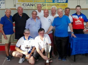Foto di gruppo dei premiati