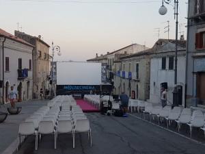 L'Arena di 'MoliseCinema' a Casacalenda