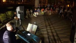 Il concerto di Peppino Natarelli in Villa 'de Capoa'