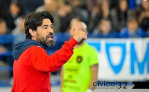 Paolo Pizzuto, allenatore della Chaminade Campobasso