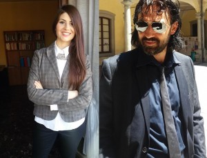 Gli avvocati Veronica Ricci e Luca Di Tommaso