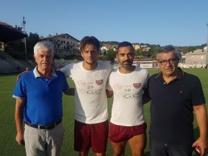 Rullo e Cassese con i due vice-presidenti Masciotra e Paolantonio