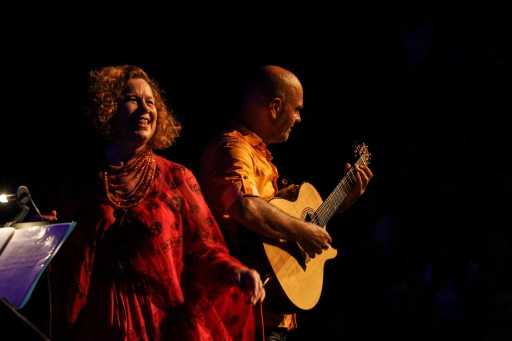 Sarah Jane Morris e Antonio Forcione