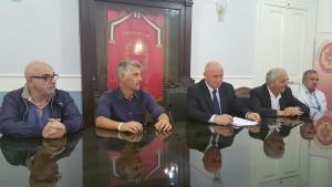 La conferenza stampa nella Sala Giunta della Provincia di Campobasso