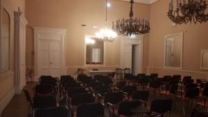 La sala del Circolo Sannitico