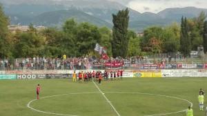 Il Campobasso festeggia a Sulmona