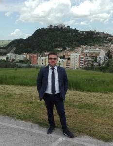 Il consigliere comunale Gianluca Maroncelli, coordinatore regionale di 'Segnale Civico'