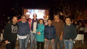 L'assessore Emma de Capoa con lo staff di 'Molise Cinema'
