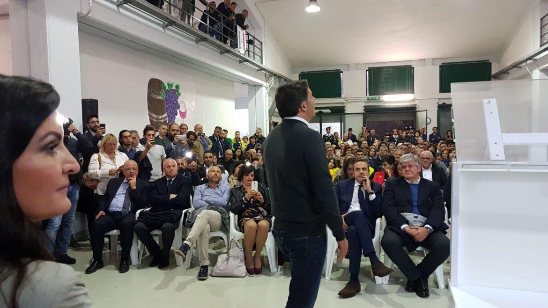 La visita di Matteo Renzi a Campomarino