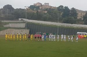 L'ingresso in campo di Castelfidardo - Campobasso
