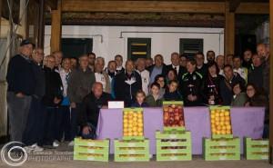 La foto di gruppo finale a Castel del Giudice