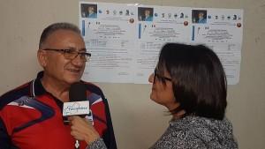 Il presidente della Frosolonese, Pasquale Mangione, intervistato da Telemolise