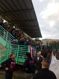 I tifosi del Campobasso a Castelfidardo
