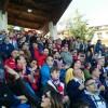I tifosi del Campobasso durante il vittorioso derby del 'Civitelle'