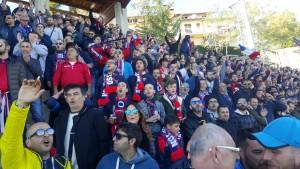 I tifosi del Campobasso al 'Civitelle'
