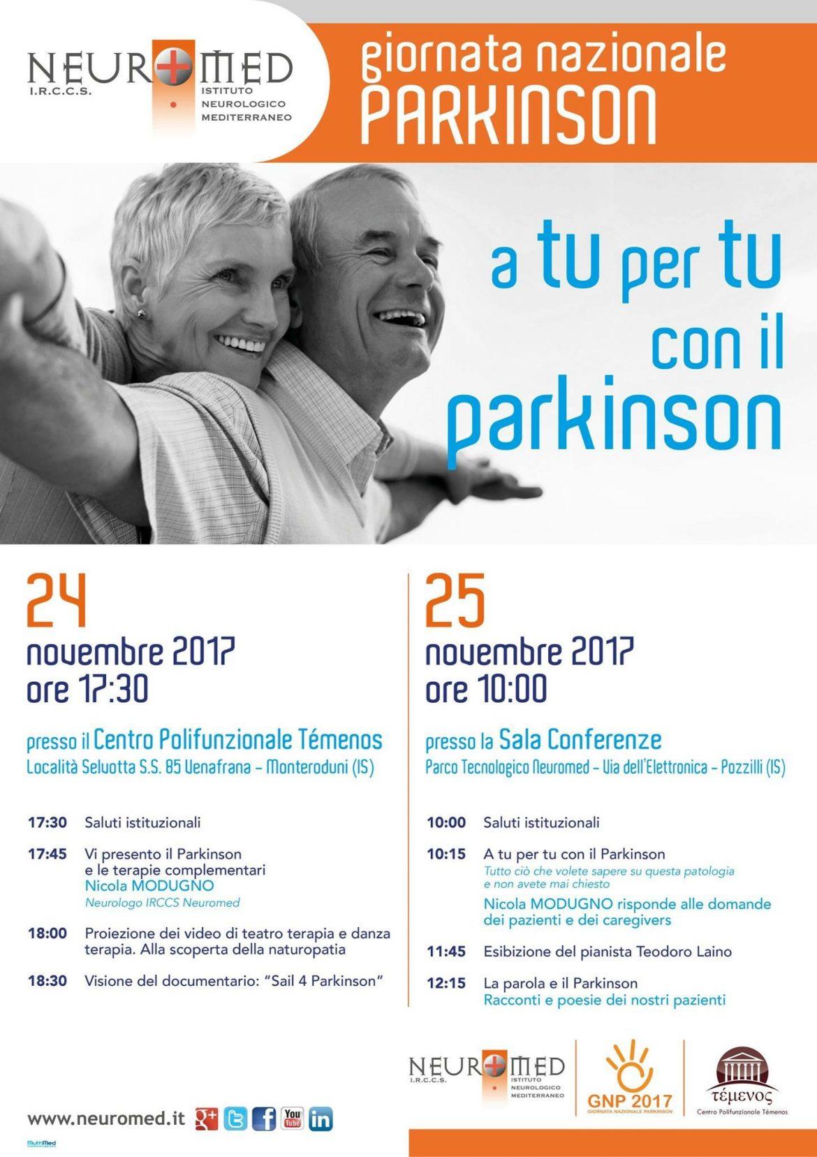 Photo of Giornata Nazionale Parkinson, il Neuromed in prima fila nella lotta alla patologia