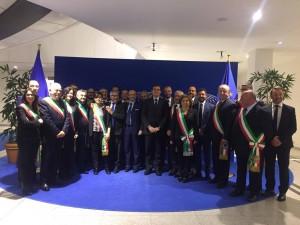 bruxelles delegazione sindaci patriciello