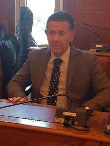 Il consigliere comunale Lello Bucci, presidente della Commissione Urbanistica